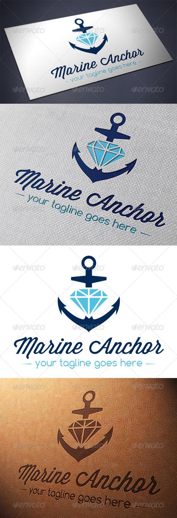 GraphicRiver Marine Anchor Logo Template 5567638