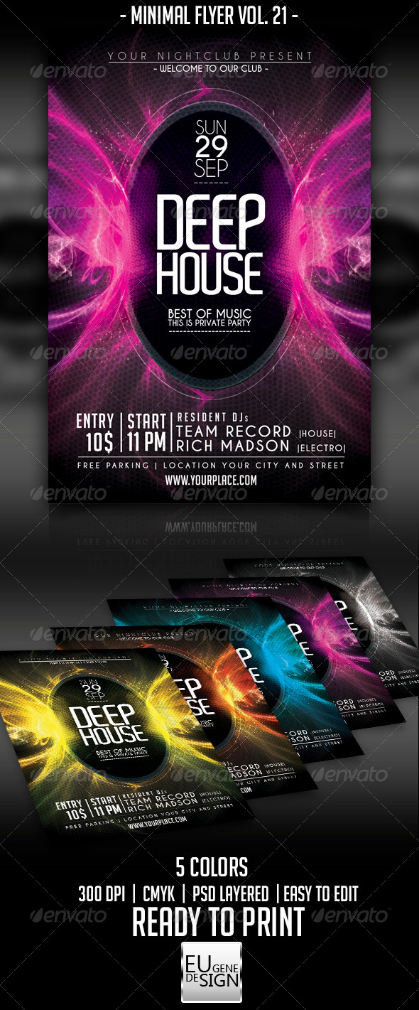 GraphicRiver Minimal Flyer Vol 21 5567650