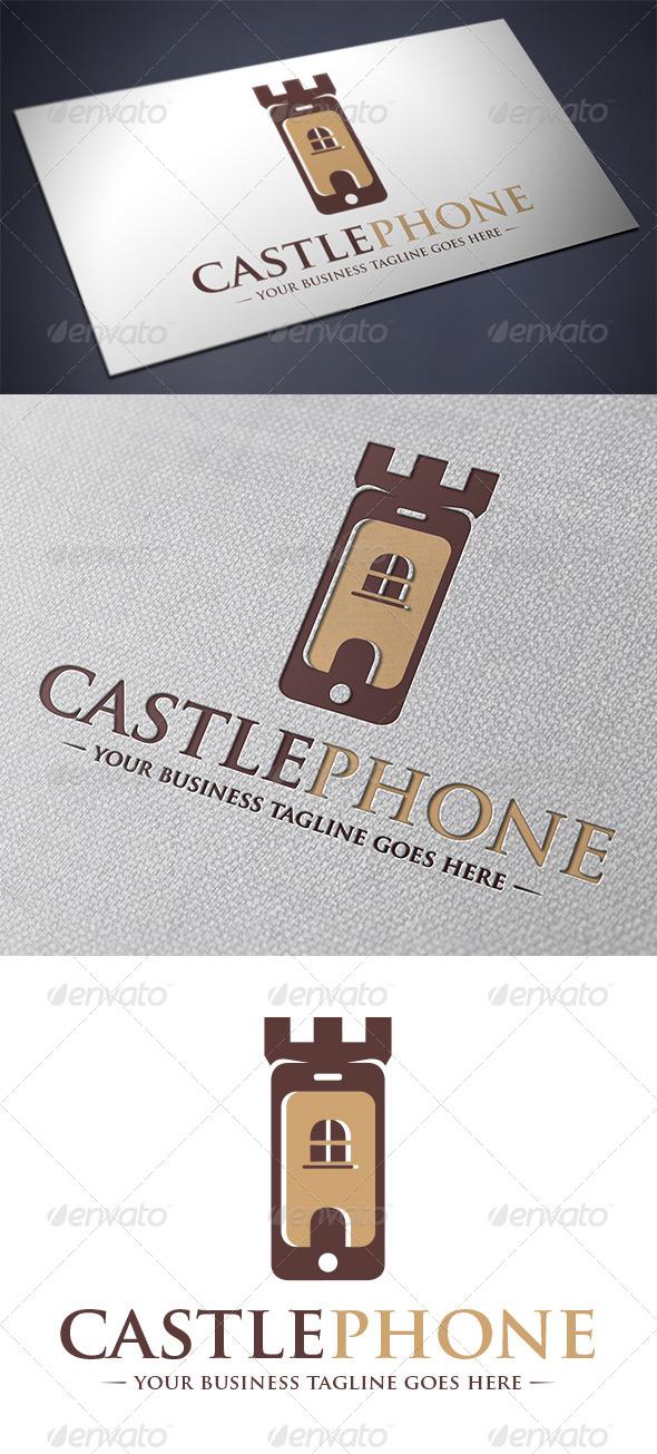 GraphicRiver Phone Castle Logo 5567752