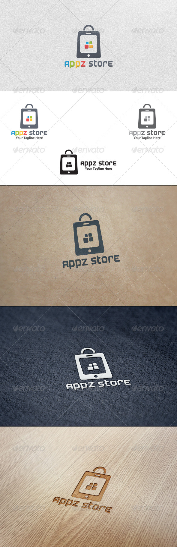 GraphicRiver Apps Store Logo Template 5567795