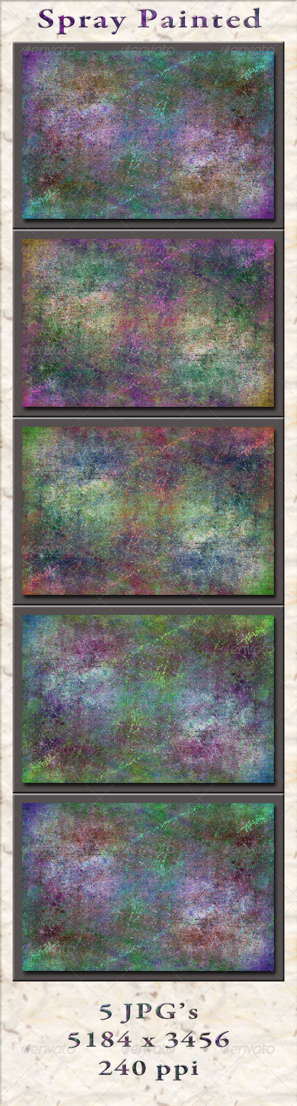 GraphicRiver Spray Painted Textures 5567886