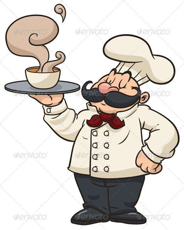 GraphicRiver Cartoon Chef 5568559