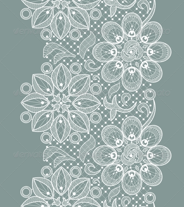 GraphicRiver Lace Seamless Pattern 5568841