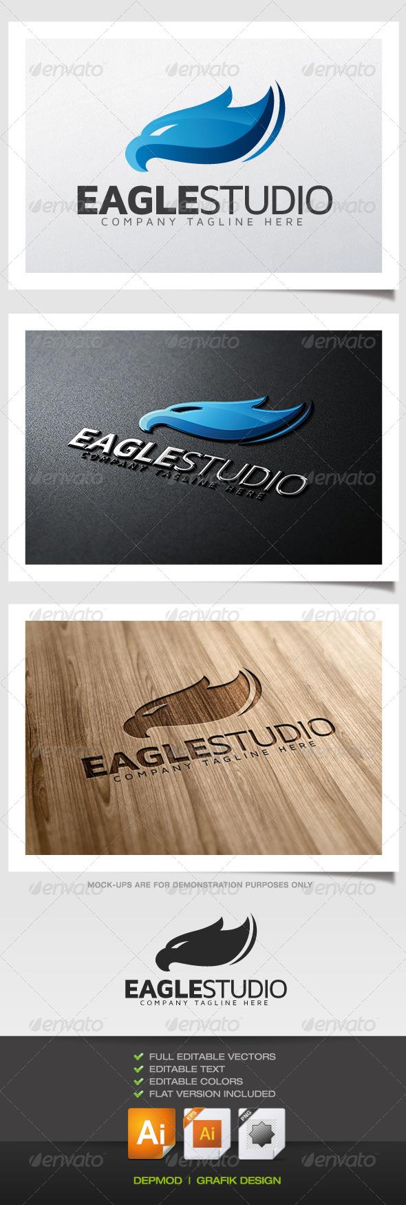 Eagle Studio Logo - Animals Logo Templates