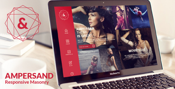ThemeForest Ampersand Multipurpose Masonry Website Template 5559100