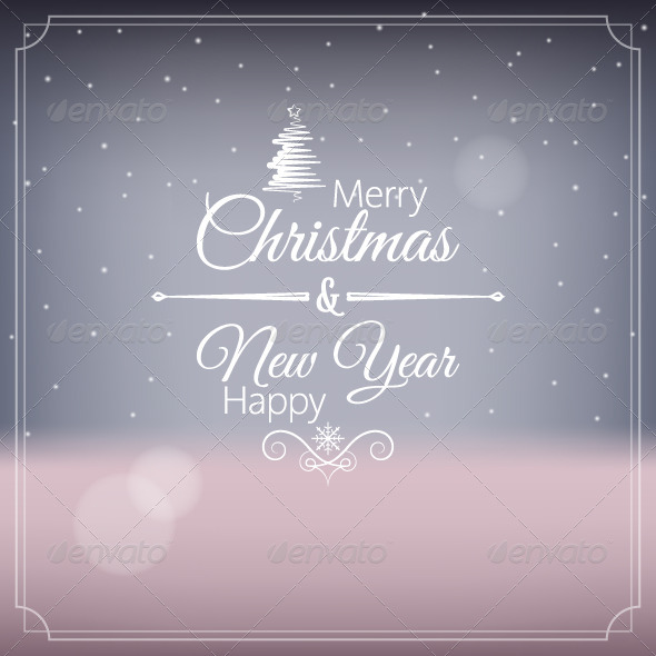 GraphicRiver Merry Christmas and Happy New Year 5569125