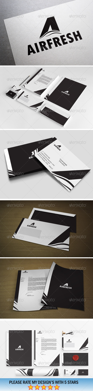 GraphicRiver Black & White Airfresh 5546047