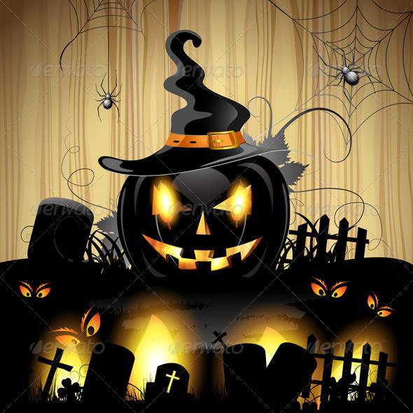 GraphicRiver Halloween Pumpkin 5569156