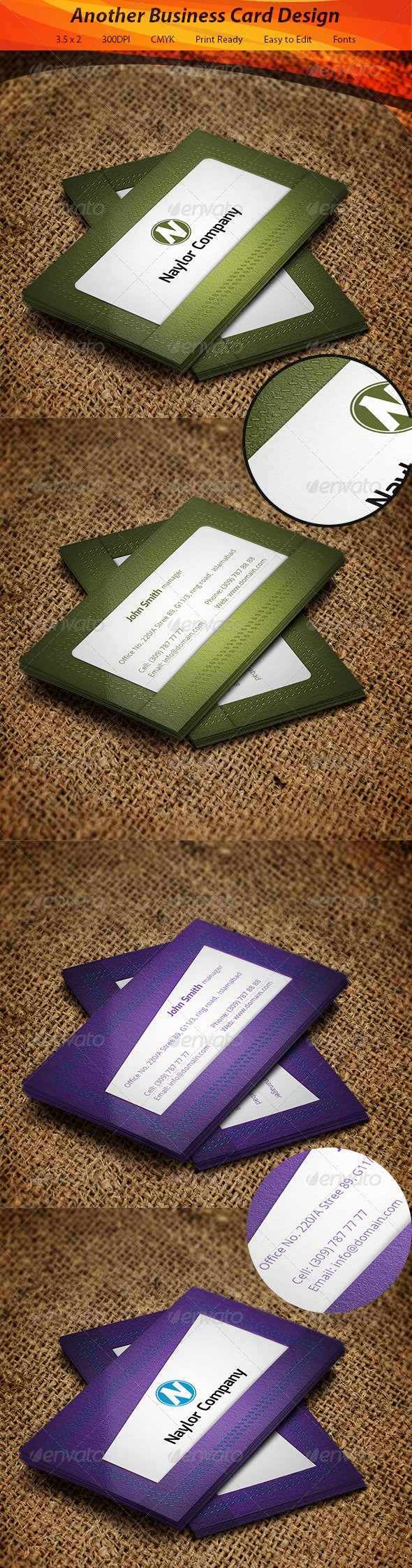 GraphicRiver Wallet Business Card 5569165