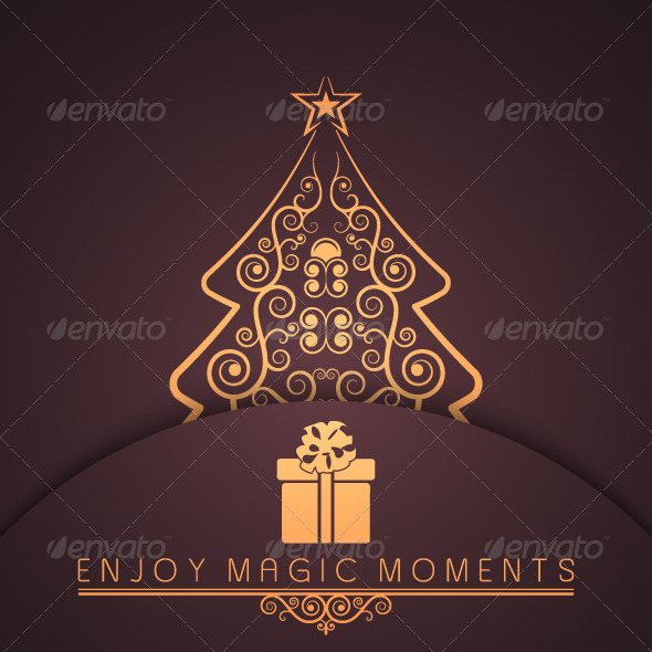 GraphicRiver Merry Christmas Holiday Background 5569199