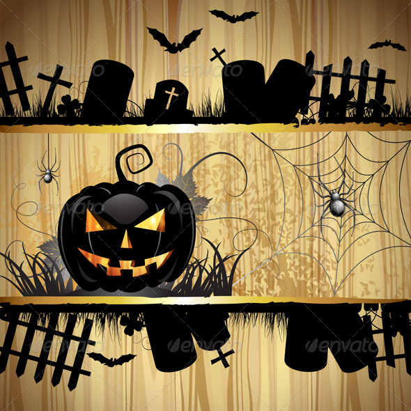 GraphicRiver Halloween Pumpkin 5569210