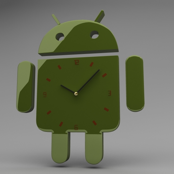 3DOcean Android Clock 5525893