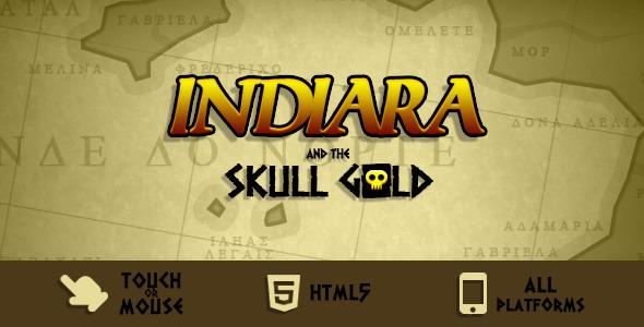 CodeCanyon Indiara and the Skull Gold 5569360