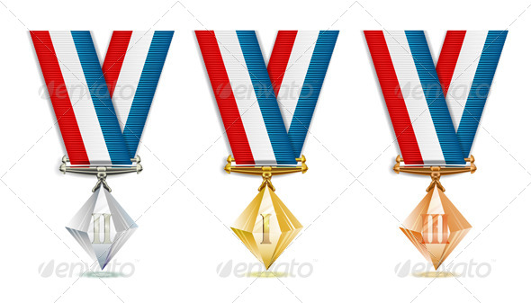 GraphicRiver Crystal Medals 5569364
