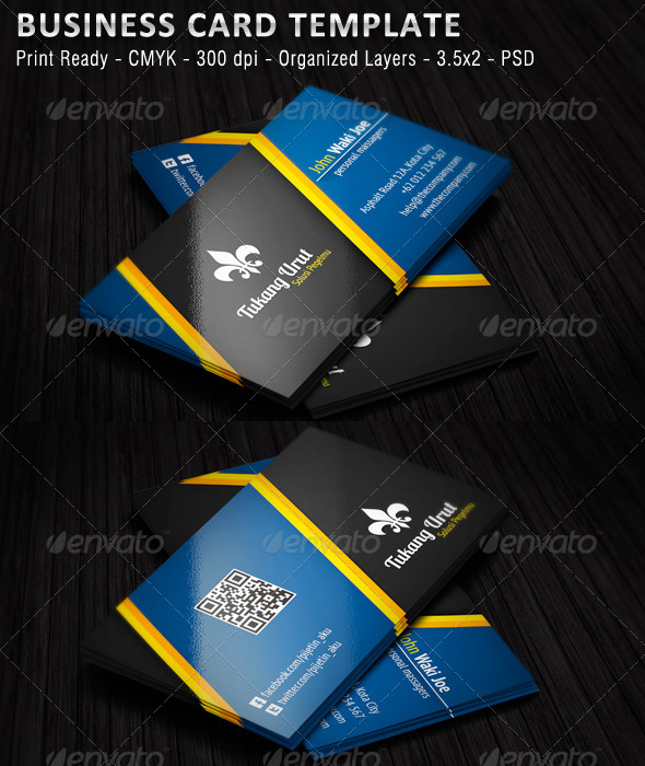 GraphicRiver Tukang Urut Business Card 5569508