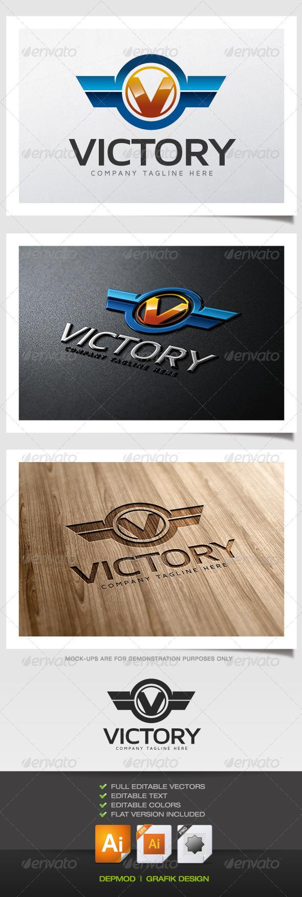 GraphicRiver Victory Logo 5560556