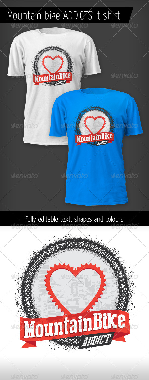 GraphicRiver Mountain Bike Addict T-shirt 5562528