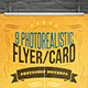 Realistic Flyer/Card Mock-Ups Vol.1 - GraphicRiver Item for Sale