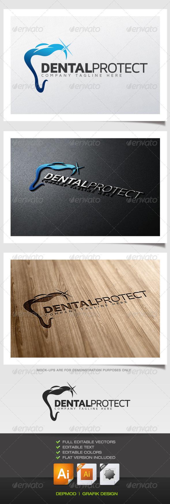 Dental Protect Logo - Objects Logo Templates