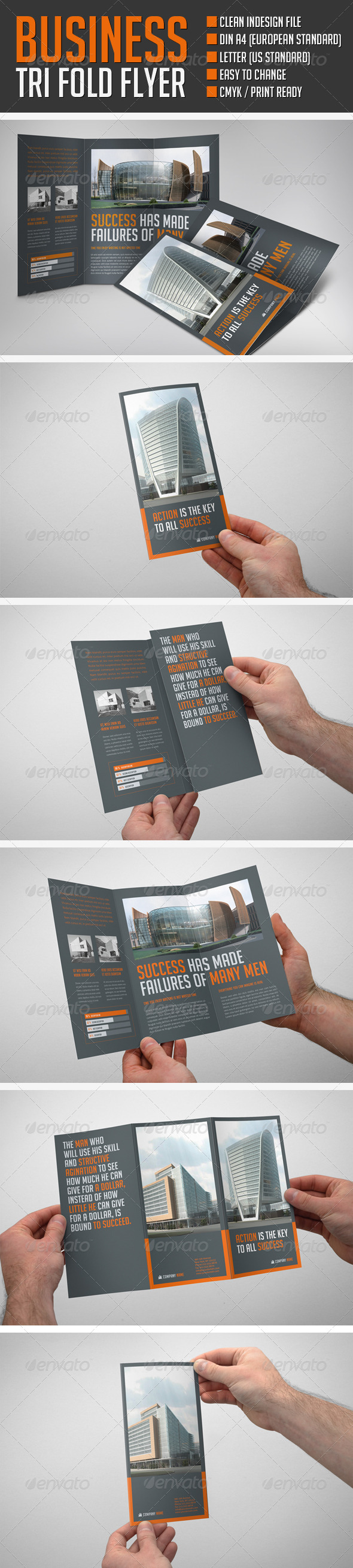 Business Flyer Dark - Print Templates
