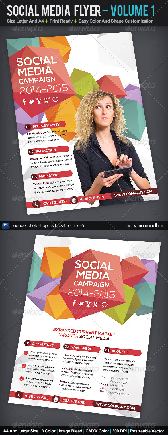 GraphicRiver Social Media Flyer Volume 1 5570674