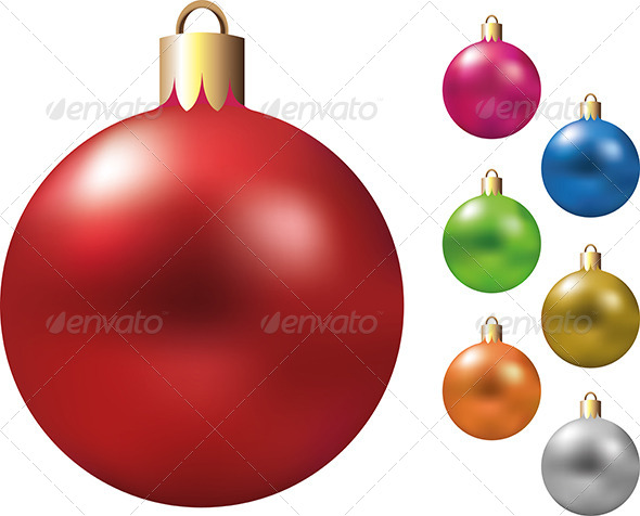 GraphicRiver Christmas Decorations Vector 5570865