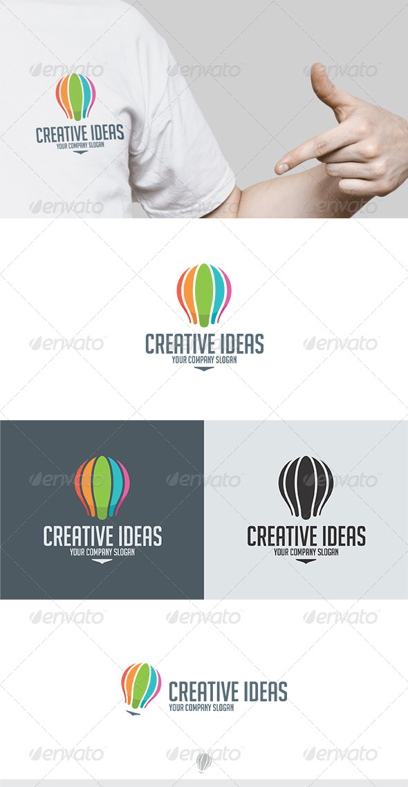 GraphicRiver Creative Ideas Logo 5570868