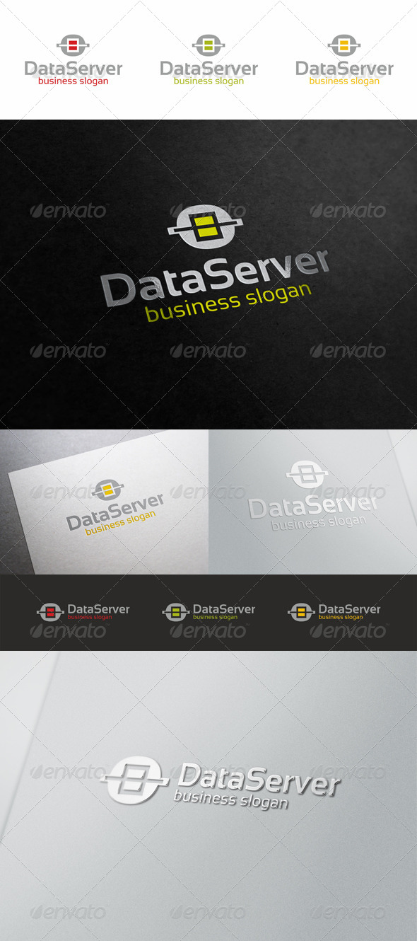 Data Server Logo - Symbols Logo Templates