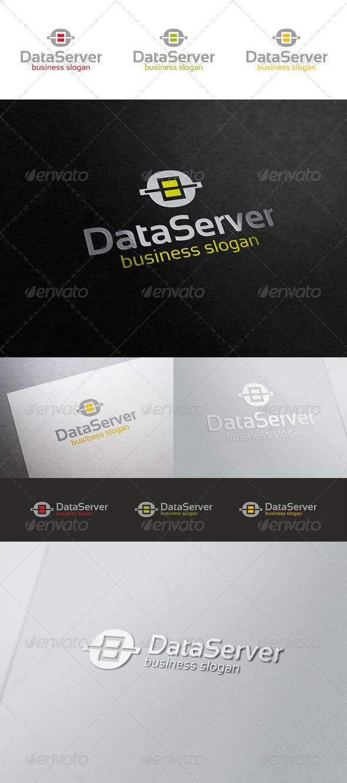 Data Server Logo - Symbols Logo Templates