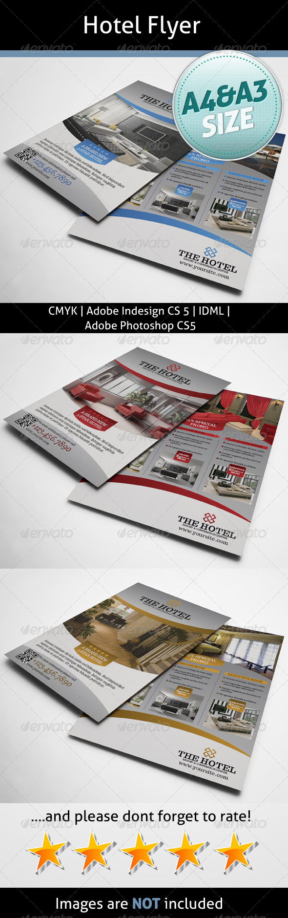 GraphicRiver Hotel Flyer 5572487