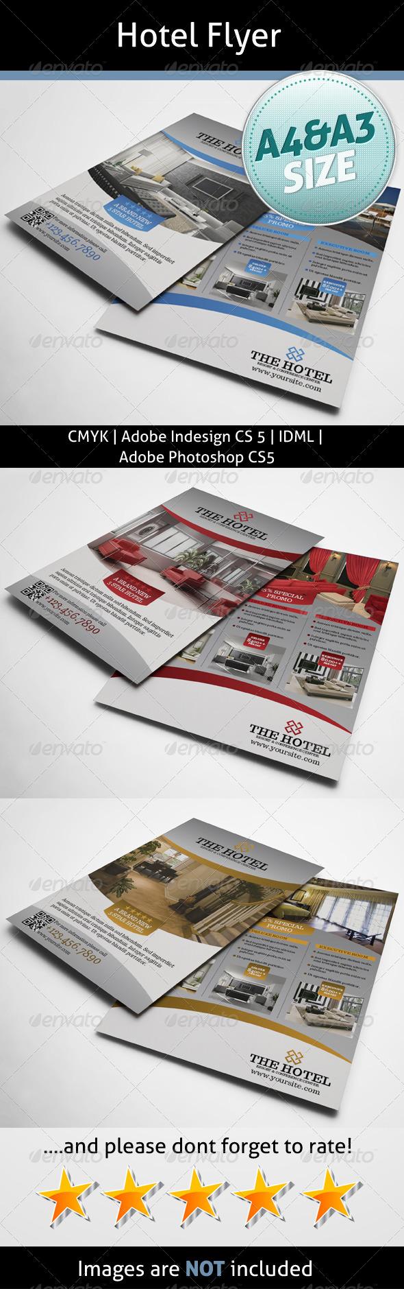 Hotel Flyer - Print Templates