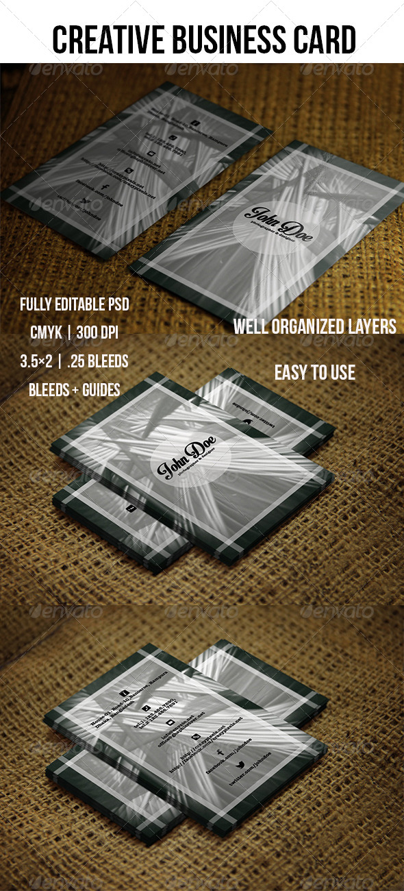 GraphicRiver Creative Business Card---02 5572535