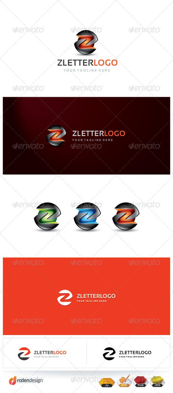 GraphicRiver Z 3D Letter Logo 5564547