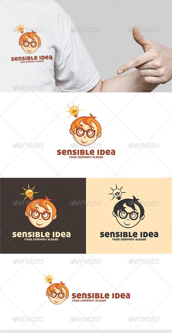 GraphicRiver Sensible Idea Logo 5573076