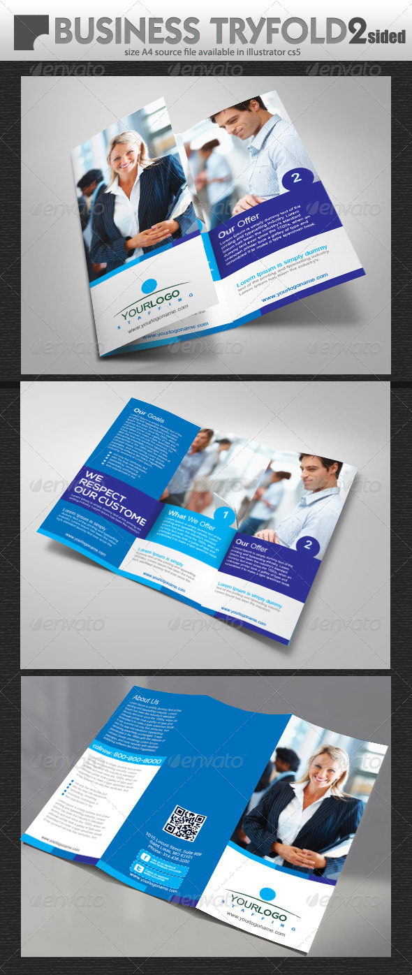 GraphicRiver Business Tiy-Fold Brochure 5547449