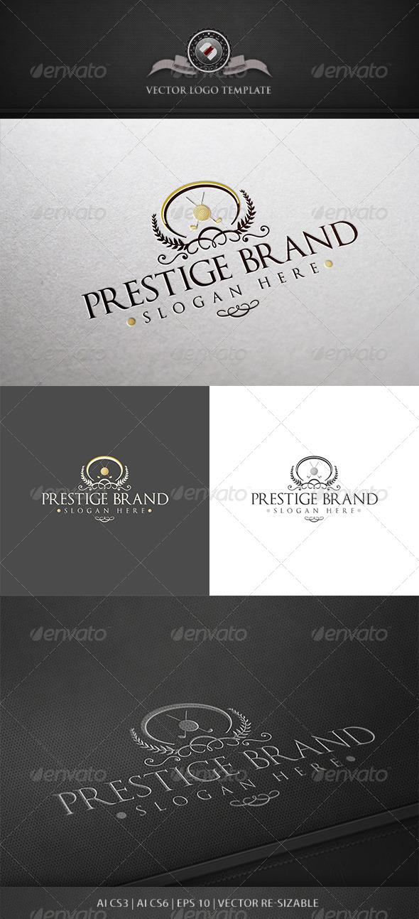 GraphicRiver Prestige Brand Logo Template 5573292