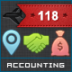 118 Vector Icons - Accounting - GraphicRiver Item for Sale