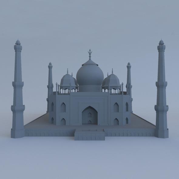 3DOcean Taj Mahal 5573430