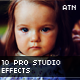 10 Pro Studio Photo Effect Actions - GraphicRiver Item for Sale