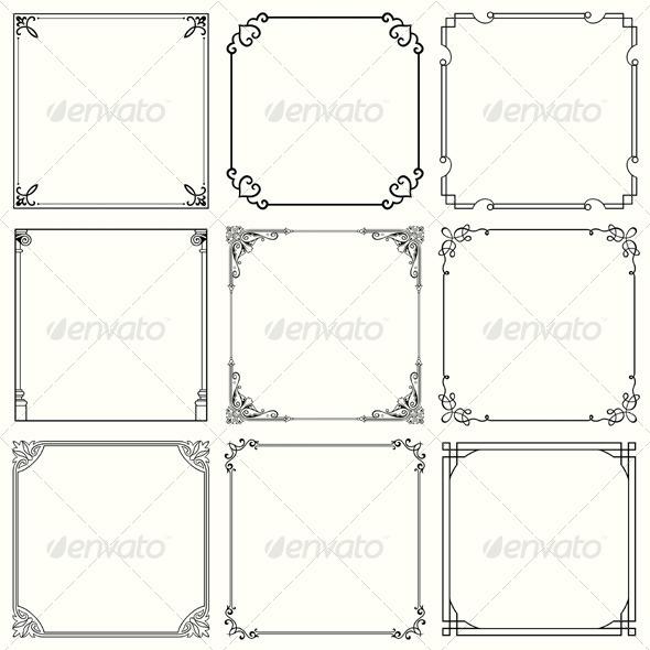 GraphicRiver Decorative Frames 5574021
