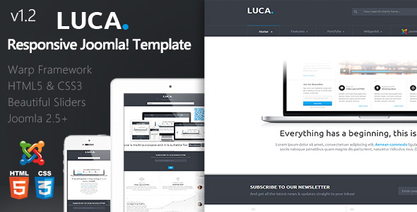 Luca :: Responsive Joomla Template