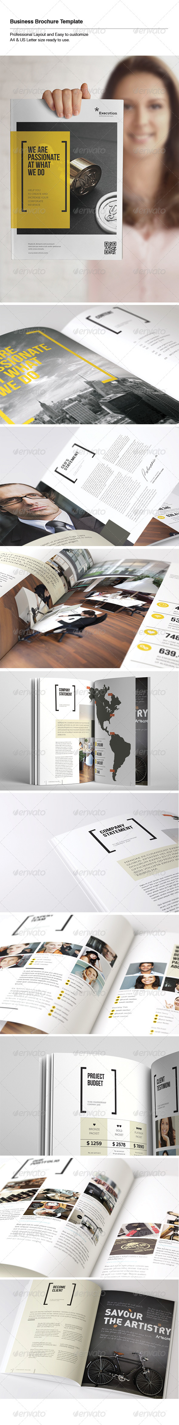 GraphicRiver Business Brochure 5575406