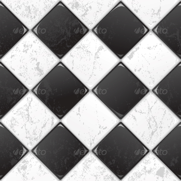 GraphicRiver Black and White Tile 5575810