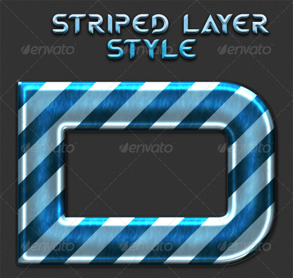 GraphicRiver Striped Layer Style 5576095