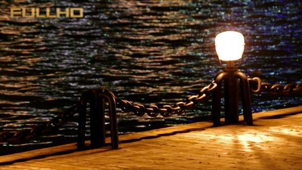 VideoHive Lantern on Quay Night City 5576297
