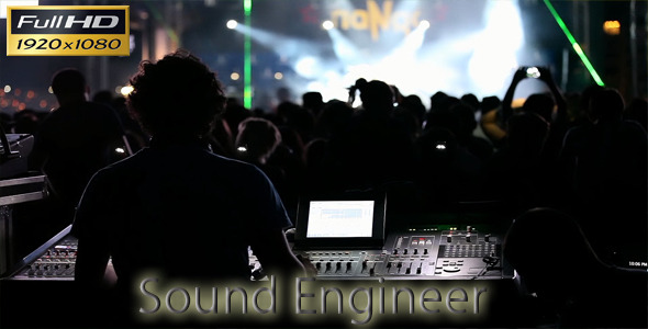 VideoHive Sound Engineer 5576365