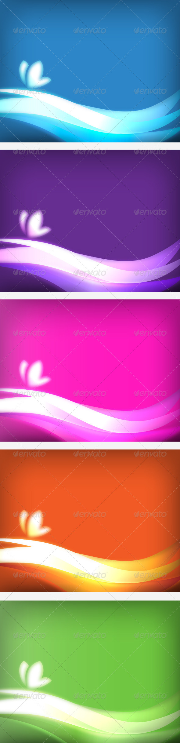 GraphicRiver Abstract Vector Waves 5576414