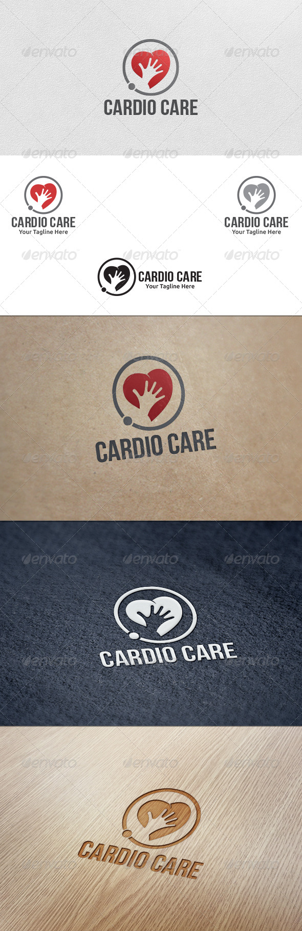 GraphicRiver Cardio Care Logo Template 5576519