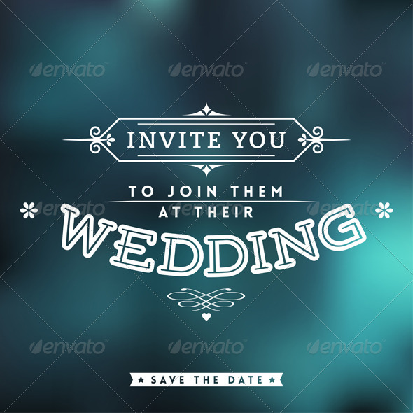 GraphicRiver Wedding Invitation 5576743