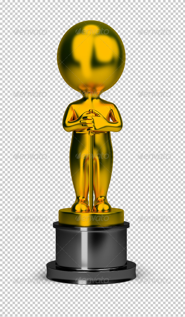 GraphicRiver 3D Small People Oscar 5577295